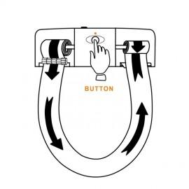 دستگاه رول توالت فرنگی Navisani بدون درب
