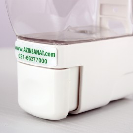 پمپ فوم مایع دستشویی مدل UFO (سفید)
