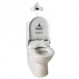 دستگاه کاور اتوماتیک توالت فرنگی (چشمی) Totolet