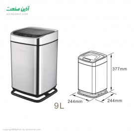 سطل زباله هوشمند Renna 9LS-S