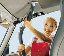 شستن سقف خودرو با دستگاه اتوماتیک