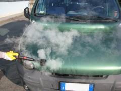 بخار شویی بدنه ماشین