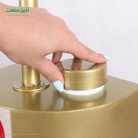 دستگاه ضد عفونی کننده پدالی 500M طلایی حجم 5 لیتر