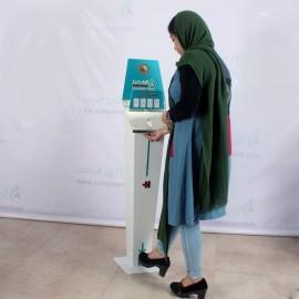 دستگاه ضدعفونی کننده دست پدالی مکانیکی ALFA