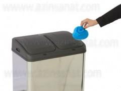 سطل زباله دو قلو اتوماتیک