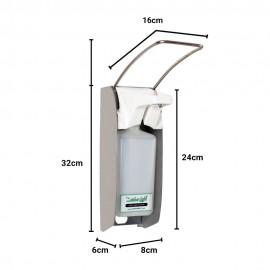 مایع ریز آرنجی NAN-MED مدل بدنه استیل S-60
