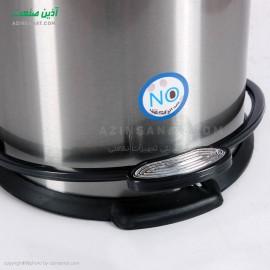 سطل استیل 3 لیتری مدل CE-310 درب پلاستیک