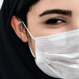 ماسک پرستاری سه لایه GOLMASK بسته 50 عددی