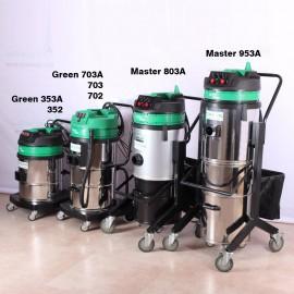 جاروبرقی صنعتی ایرانی سه موتور ساده Green H703