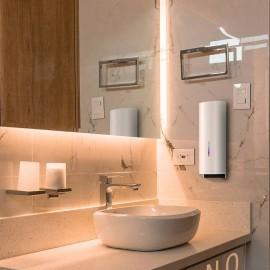 دستگاه دوکاره ضدعفونی کننده و صابون ریز H600 - بدنه فلزی رنگی