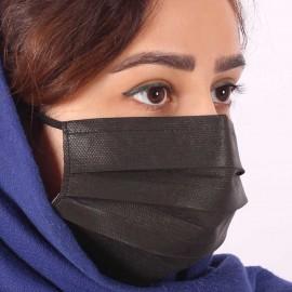 ماسک سه لایه Y999 - مشکی - 10 عددی