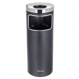 سطل زباله اداری براسیانا زیرسیگاری 20 لیتری - مشکی
