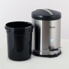 سطل زباله استیل پدالدار 5 لیتری CE510