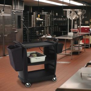 ترولی رستورانی مدل امریکن دور بسته 640