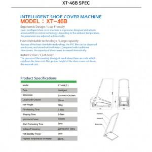 دستگاه تولید کاور کفش حرارتی دسته دار XT46-B