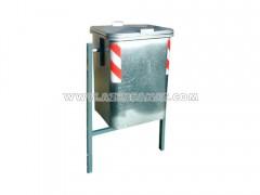 سطل 120 لیتری فلزی