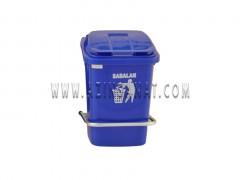 سطل زباله آشپزخانه 40 لیتری با پدال فلزی