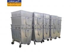 قرارگیری سطل زباله درون هم