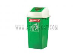 سطل زباله 70 لیتری بادبزنی