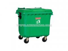 مخزن زباله چرخدار 1100 لیتری