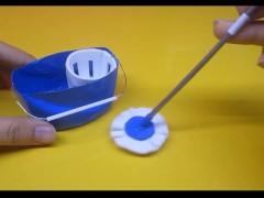 درست کردن تی شوی چرخشی کاغذی