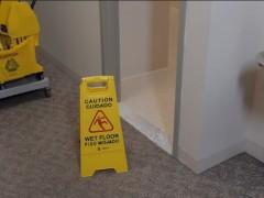 شستشو و نظافت اصولی سرویس های بهداشتی عمومی