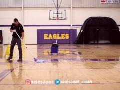 اصول تمیز کردن سالن های ورزشی