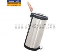 سطل زباله استیل پدالدار A70