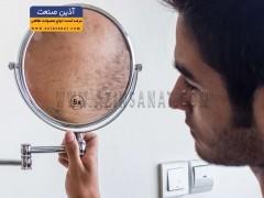 آینه پایه دار دیواری