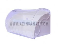 مخزن دستمال رولی بزرگ شفاف Avila