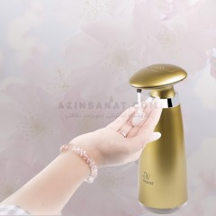 صابون ریز اتوماتیک رنا مدل 473 - رنگ طلایی