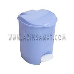 سطل زباله پلاستیکی پدال دار 15 لیتری