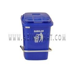 سطل زباله 40 لیتری با پدال فلزی