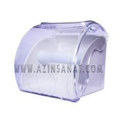 مخزن دستمال رولی کوچک شفاف Avila