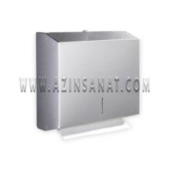 مخزن دستمال استیل آینه ای کوچک TINA