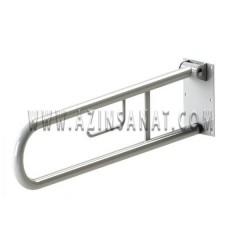 دستگیره معلول تاشو فلزی (65 سانتیمتر)