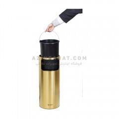 سطل استیل جاسیگاری brasiana BLB110 - طلایی