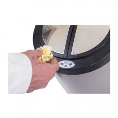 سطل استیل اتوماتیک درب پروانه ای B200