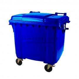 مخزن زباله پلی اتیلن 660 لیتری