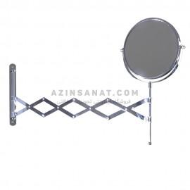 آینه اصلاح استیل آکاردئونی 320