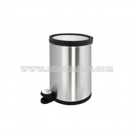 سطل زباله کابینتی 5 لیتری AMD (درب استیل)