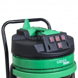 جاروبرقی سه موتور اتوماتیک ویلایی Green H353A