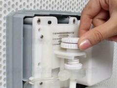 تنظیم میزان خروجی مایع دستشویی