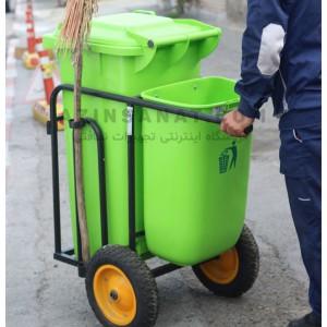 گاری (چرخ) حمل زباله