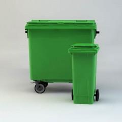 مخزن زباله صنعتی و پدالدار