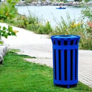 سطل زباله پارکی پایه دار