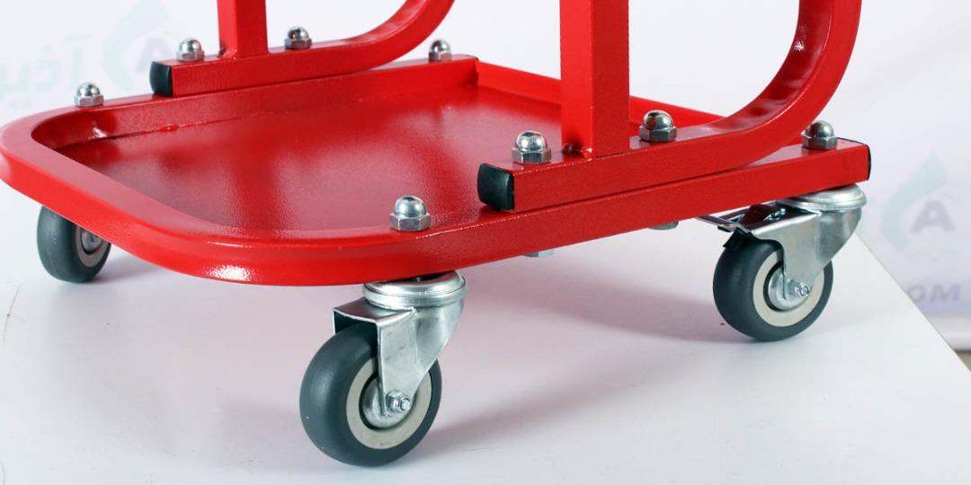 صندلی چرخ تعمیرگاهی دیتالینگ خودرو