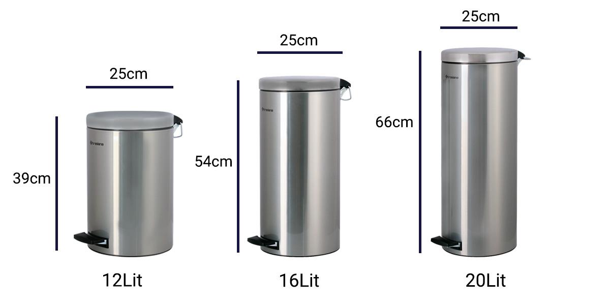 فروش سطل زباله استیل