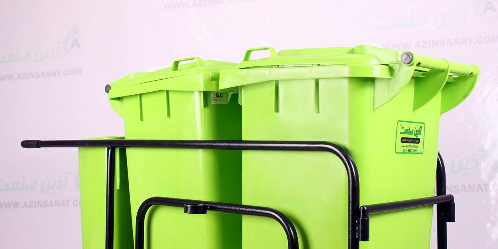 چرخ حمل زباله شهری