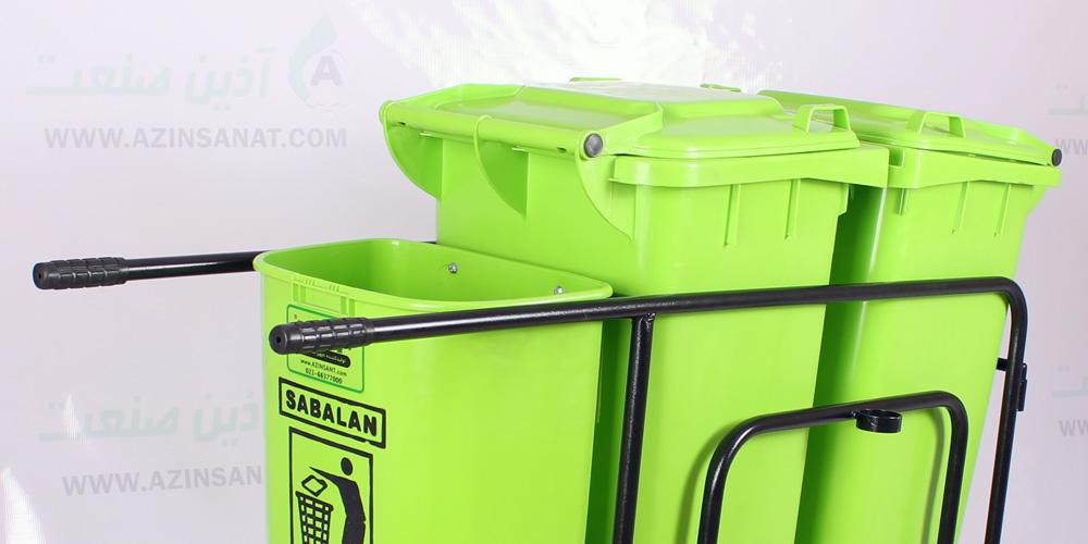 گاری زباله شهری آذین صنعت